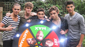 The Wanted Spin the Wanted Wheel