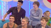The Wanted Play the One-Ted Game