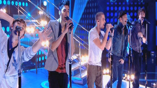 The Wanted perform Lightning